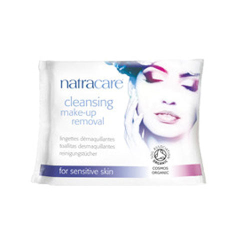 Make Up Removal Cleansing Wipes 20 Count by Natracare