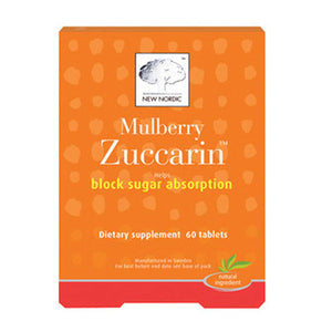 Mulberry Zuccarin 60 Tabs by New Nordic US Inc
