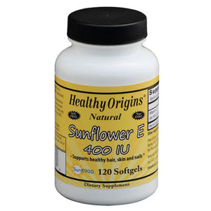 Sunflower E 120 Softgels by Healthy Origins (2590152786005)