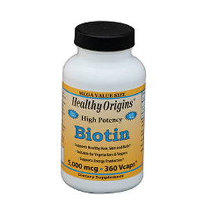 Biotin 360 Veg Caps by Healthy Origins