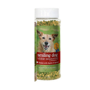 Smiling Dog Kibble Seasoning Chicken 4.3 Oz by Herbsmith (2588245131349)