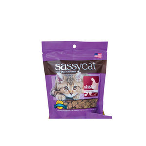 Sassy Cat Treats Freeze Dried Chicken Apple & Spinach 1.25 Oz by Herbsmith (2588244803669)