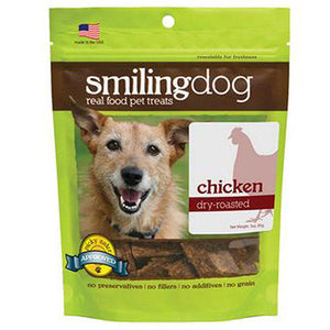 Smiling Dog Treats Dry Roasted Chicken 3 Oz by Herbsmith (2588244770901)