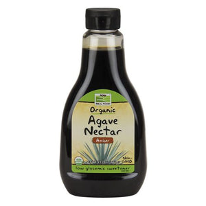 Agave Nectar (Amber) Organic 23.28 Oz by Now Foods (2590149607509)