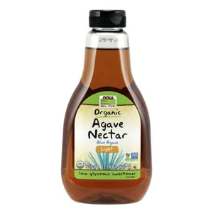 Organic Light Amber Agave Nectar 23.28 Oz by Now Foods
