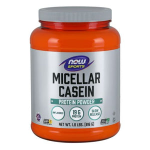 Instantized Micellar Casein Unflavored 1.8 lbs by Now Foods