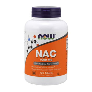 N-Acetyl-L-Cysteine (NAC) 120 Tablets by Now Foods