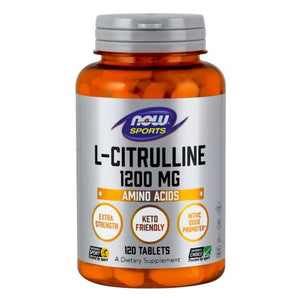 L-Citrulline 120 Tabs by Now Foods (2590148821077)