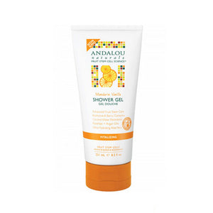 Shower Gel Mandarin Vanilla Vitalizing,, 8.5 Oz by Andalou Naturals (2590148264021)