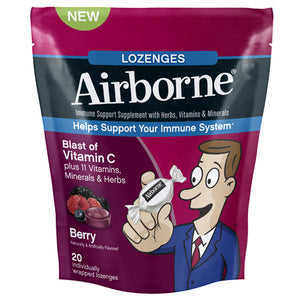 Airborne Lozenges Berry by Airborne