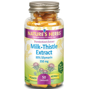 Milk Thistle Extract 50 Caps by Nature's Herbs(Zand)
