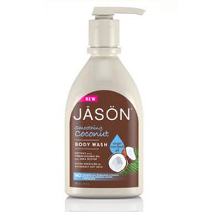 Smoothing Coconut Body Wash 30 Oz by Jason Natural Products (2588239822933)