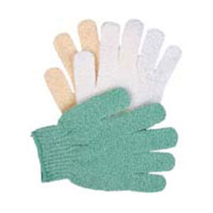Exfoliating Hydro Gloves Natural 1 EA by Earth Therapeutics (2588737339477)