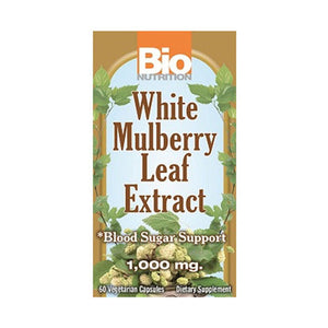 White Mulberry Leaf Extract 60 Vcaps by Bio Nutrition Inc