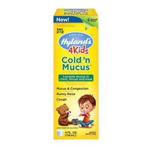 Cold N Mucus 4 Kids 4 Oz by Hylands (2590144921685)