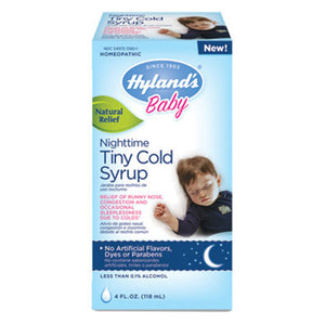 Baby Tiny Cold Syrup Nighttime 4 Oz by Hylands