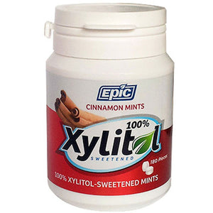 Xylitol Mints Cinnamon 180 Pc by Epic Dental