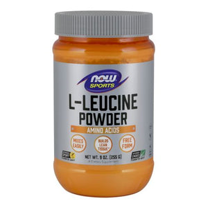 L-Leucine Powder 9 Oz by Now Foods