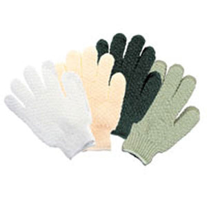 Exfoliating Hydro Gloves White 1 EACH by Earth Therapeutics (2588852682837)