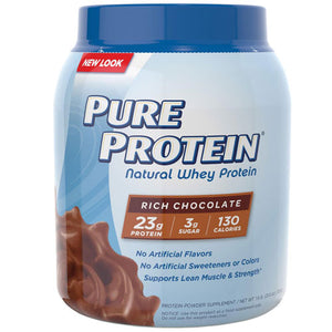 Whey Protein Chocolate 1.6 Lb by Pure Protein