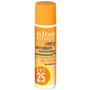 Sun Block Lip Care Spf 25 0.15 Oz by Alba Botanica (2588225273941)