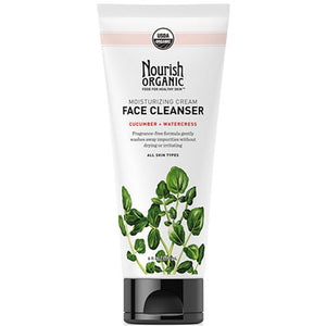 Moisturizing Organic Face Cleanser Cucumber 6 oz by Nourish (2590142234709)