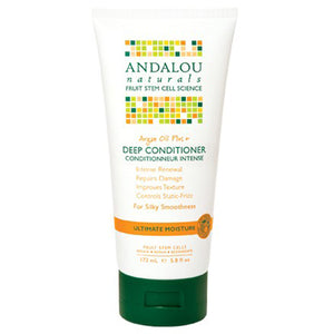 Argan Oil & Shea Moisture Rich Deep Conditioner 5.8 oz by Andalou Naturals (2588218622037)