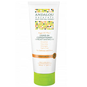 Argan Oil & Shea Moisture Rich Leave-In Conditioner 6.8 fl oz by Andalou Naturals (2590141415509)