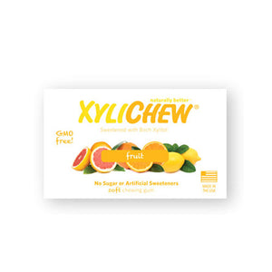 Xylichew Gum Fruit Jar 60 Count by Xylichew