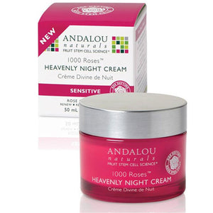 1000 Roses Heavenly Night Cream 1.7 Oz by Andalou Naturals (2590138237013)