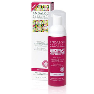 1000 Roses Cleansing Foam 5.5 Oz by Andalou Naturals (2590137843797)