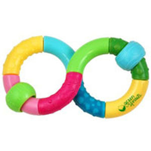 Infinity Teether Rattle 1 Ct by Green Sprouts