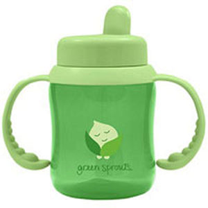 Flip Top Sippy Aqua 1 Ct by Green Sprouts