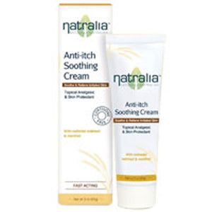 Anti-Itch Soothing Cream 3 Oz by Natralia (2590137581653)