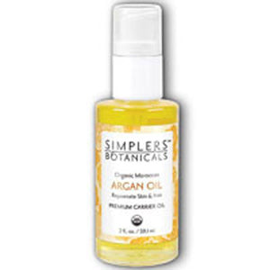 Organic Argan Oil 1 oz by Simplers Botanicals(Zand) (2590136533077)