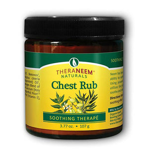 Chest Rub Soothing Therape with Neem Eucalyptus 3.77 oz by Organix South