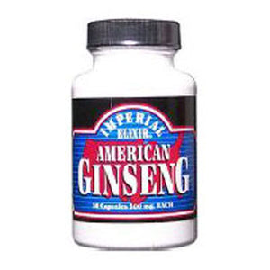 American Ginseng 50 Caps by Imperial Elixir / Ginseng Company (2583989551189)