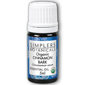 Organic Cinnamon Bark 5 ml by Simplers Botanicals(Zand) (2588205383765)