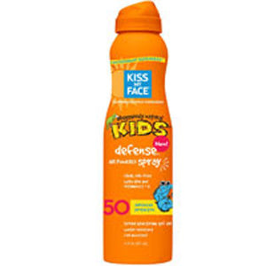 Kids Defense Continuous Spray SPF 50 6 Oz by Kiss My Face (2588200501333)