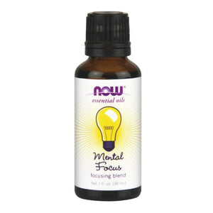 Mental Focus Oil Blend Focusing, 1 oz by Now Foods