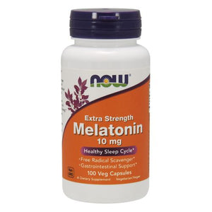 Melatonin 100 Vcaps by Now Foods