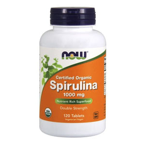 Organic Spirulina 120 Tabs by Now Foods