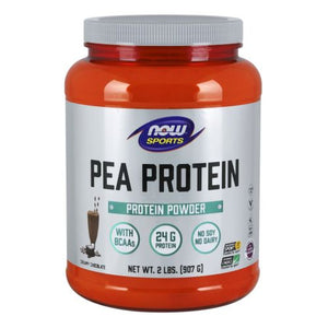 Pea Protein Dutch Chocolate, 2 lbs by Now Foods
