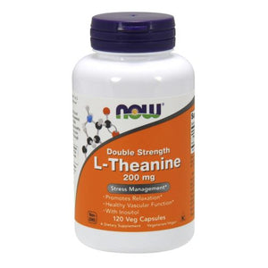 L-Theanine 120 Vcaps by Now Foods (2590121820245)
