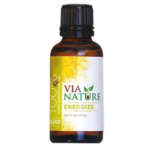 Essential Oil 1 Oz, Energize Blend by Via Nature (2588197650517)