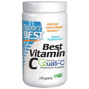 Vitamin C with Quali-C 250 Grams by Doctors Best (2588192735317)