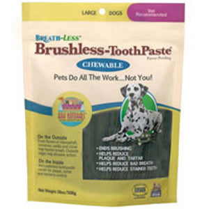 Breathless Brushless Toothpaste For Dogs 18 Oz, Large by Ark Naturals (2588191948885)