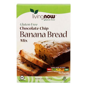 Chocolate Chip Banana Bread Mix 10.2 Oz by Now Foods
