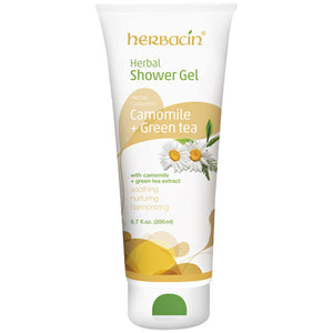 Herbal Collection Shower Gel Camomile & Green Tea 6.7 oz by Herbacin