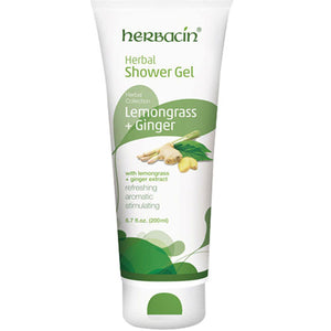 Herbal Collection Shower Gel Lemongrass & Ginger 6.7 oz by Herbacin